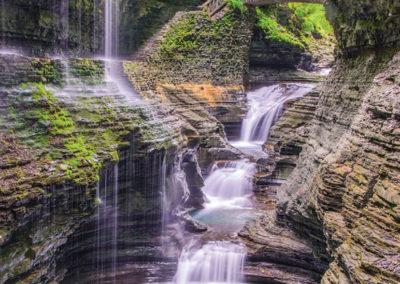 Raibow Falls, Magnolia Place Bed & Breakfast, Finger Lakes, NY