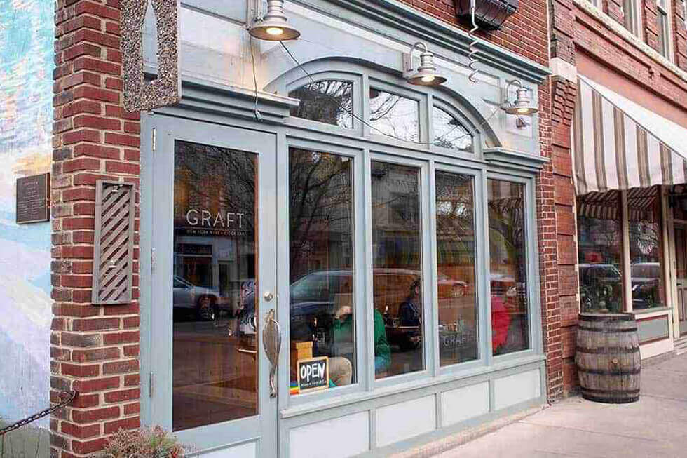 Graft Wine and Cider Bar, Magnolia Place Bed & Breakfast, Finger Lakes, NY