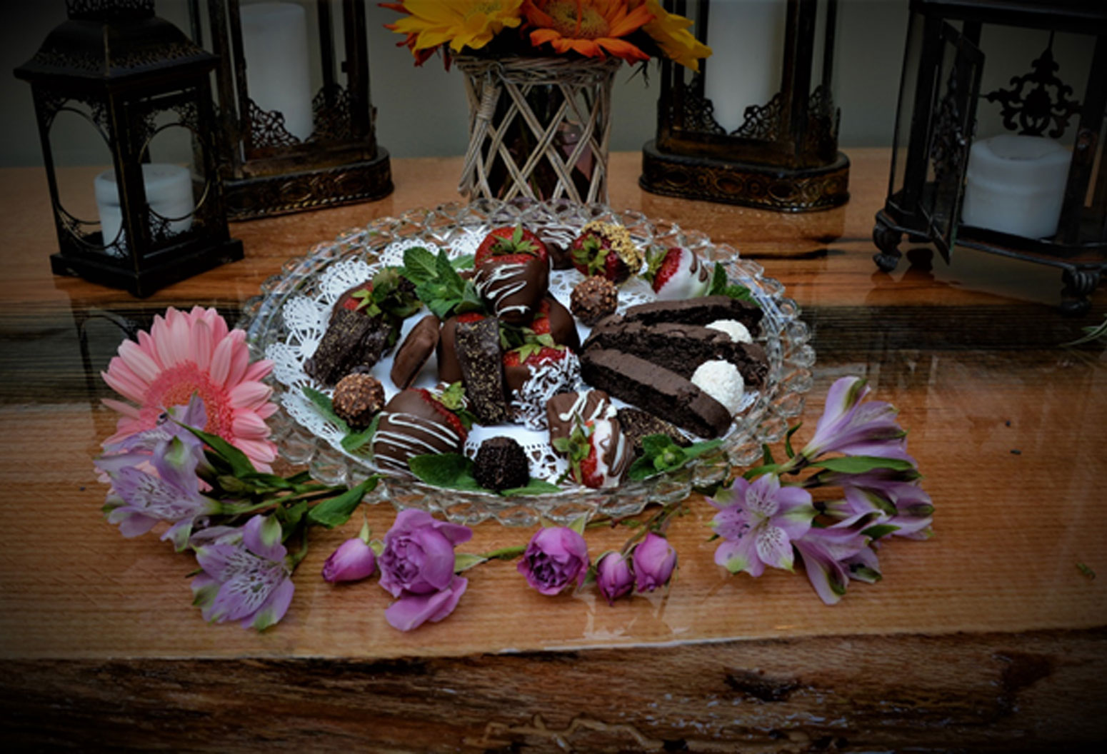 Magnolia Sweets Platter, Magnolia Place Bed & Breakfast, Finger Lakes, NY