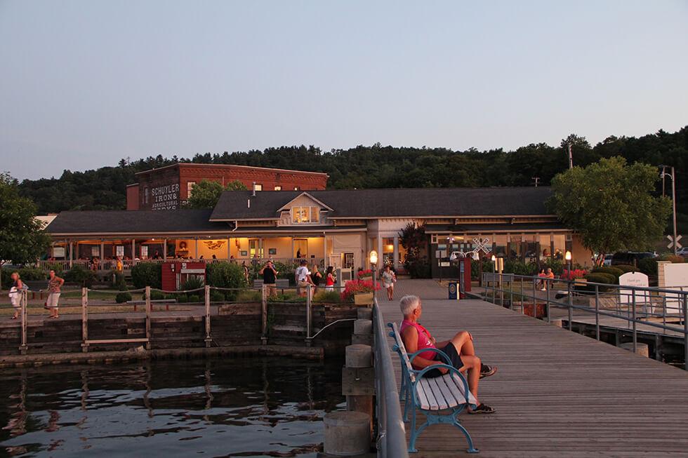 Seneca Harbor Station, Magnolia Place Bed & Breakfast, Finger Lakes, NY
