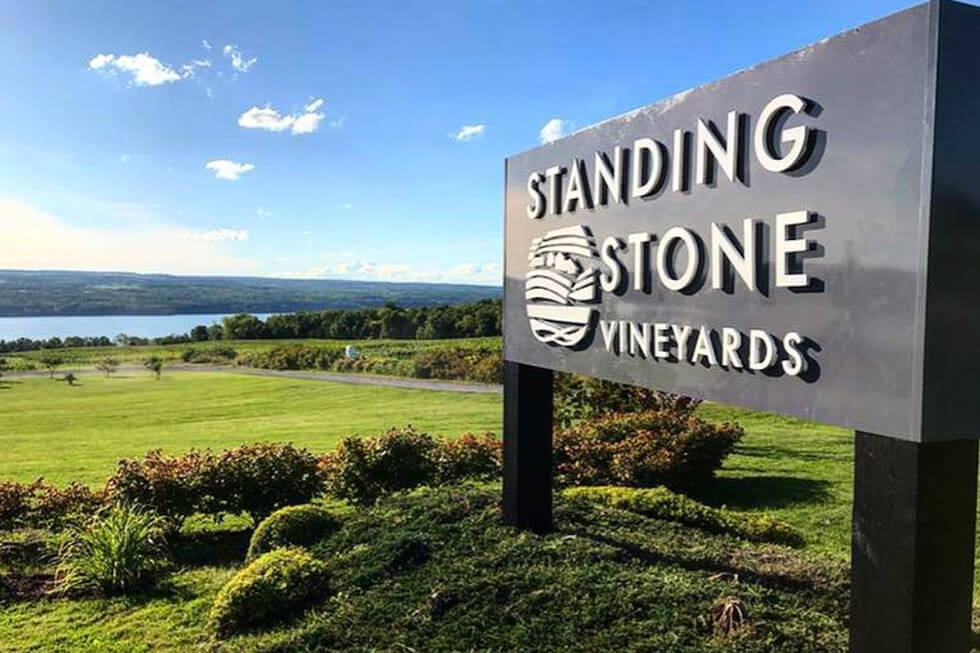 Standing Stone Vineyards, Magnolia Place Bed & Breakfast, Finger Lakes, NY