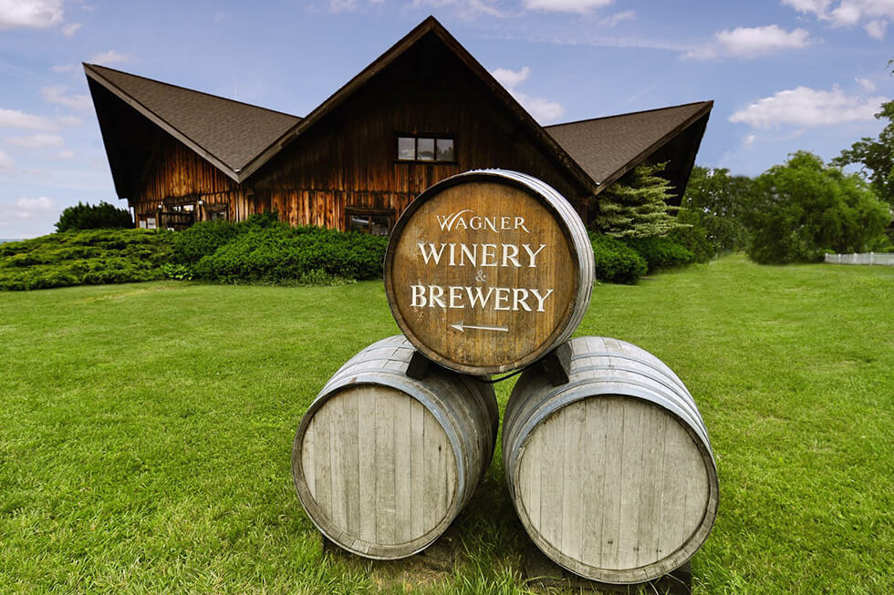 Wagner Valley Brewing Co, Magnolia Place Bed & Breakfast, Finger Lakes, NY