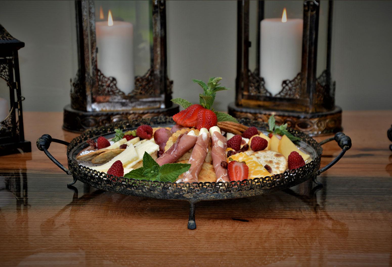 Finger Lakes Creamery Platter, Magnolia Place Bed & Breakfast, Finger Lakes, NY
