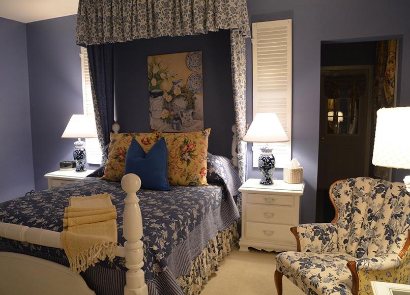 Seneca Room, Magnolia Place Bed & Breakfast, Finger Lakes, NY